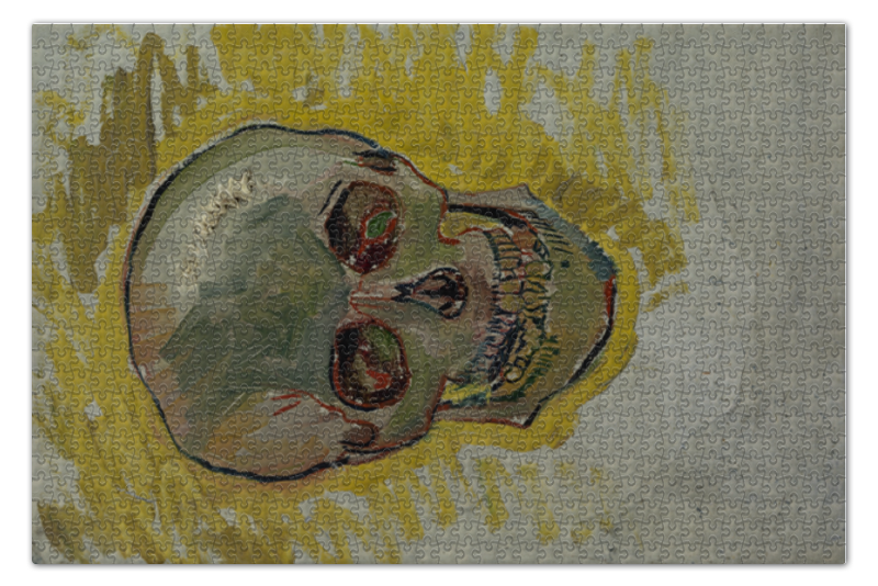 Printio Череп ii (винсент ван гог) пазл 73 5 x 48 8 1000 элементов printio добрый самаритянин винсент ван гог