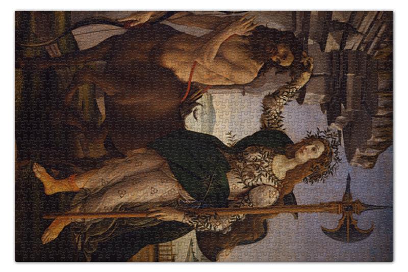 Пазл 73.5 x 48. (1000 элементов) Printio Паллада и кентавр (картина боттичелли)