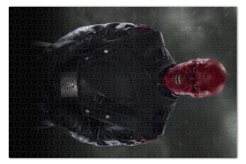 Пазл 73.5 x 48.8 (1000 элементов) Printio Красный череп пазл 73 5 x 48 8 1000 элементов printio спящая красавица