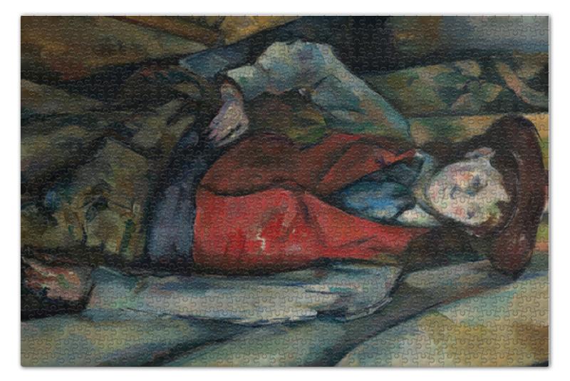 Printio Мальчик в красном жилете (поль сезанн)