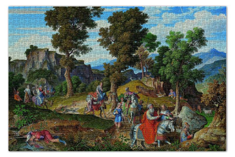 Пазл 73.5 x 48.8 (1000 элементов) Printio Шествие волхвов (йозеф антон кох )