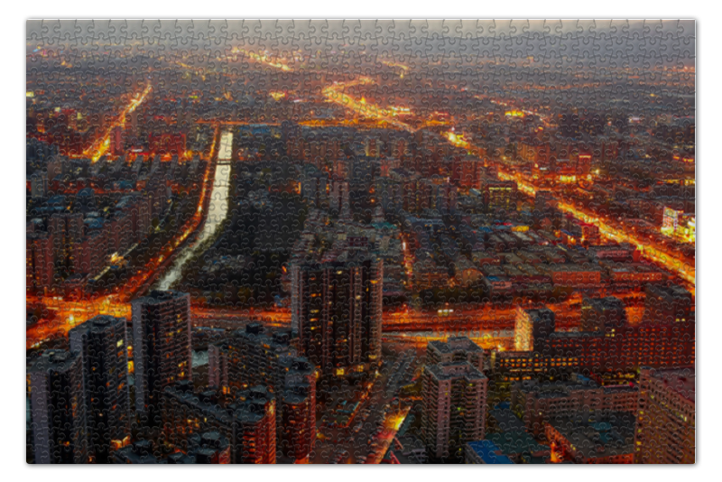 Пазл 73.5 x 48.8 (1000 элементов) Printio Пекин пекин бадайхе жд билет