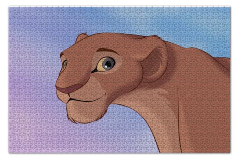 Пазл 73.5 x 48.8 (1000 элементов) Printio Король лев пазл 360 арт терапия лев 02347