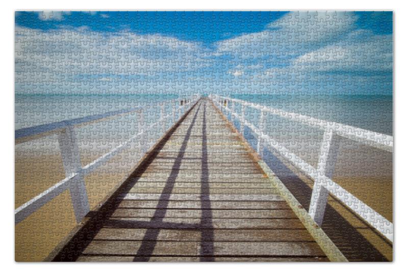 Пазл 73.5 x 48.8 (1000 элементов) Printio Лазурный берег