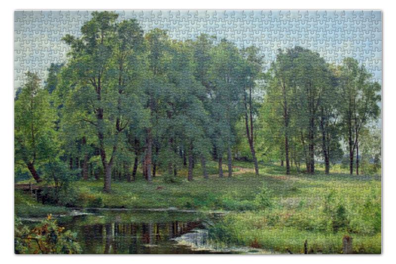 Пазл 73.5 x 48.8 (1000 элементов) Printio В парке (иван шишкин) иван бунин жизнь арсеньева