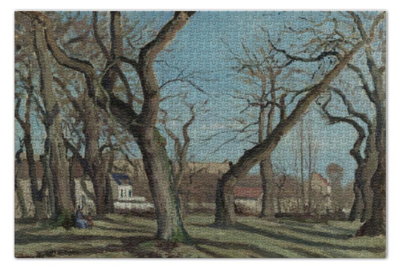 Пазл 73.5 x 48.8 (1000 элементов) Printio Chestnut grove at louveciennes