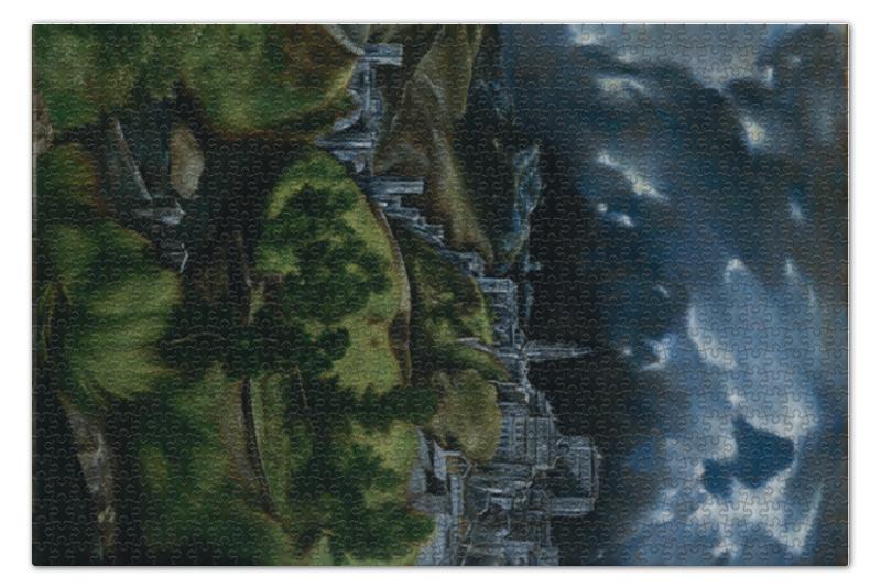 Фото - Пазл 73.5 x 48.8 (1000 элементов) Printio Вид толедо (картина эль греко) пазл 73 5 x 48 8 1000 элементов printio мастерская художника картина яна вермеера