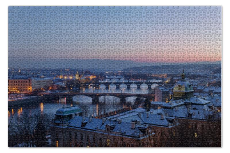 Пазл 73.5 x 48.8 (1000 элементов) Printio Прага piatnik пазл прага