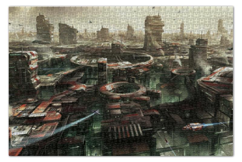Пазл 73.5 x 48.8 (1000 элементов) Printio Город будущего пазл 1000 элементов hatber город мечты