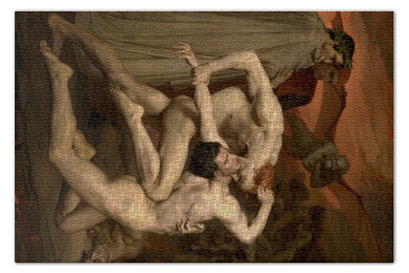 Пазл 73.5 x 48.8 (1000 элементов) Printio Данте и вергилий в аду (вильям бугро) пазл 73 5 x 48 8 1000 элементов printio открытая дверь в сад картина сомова