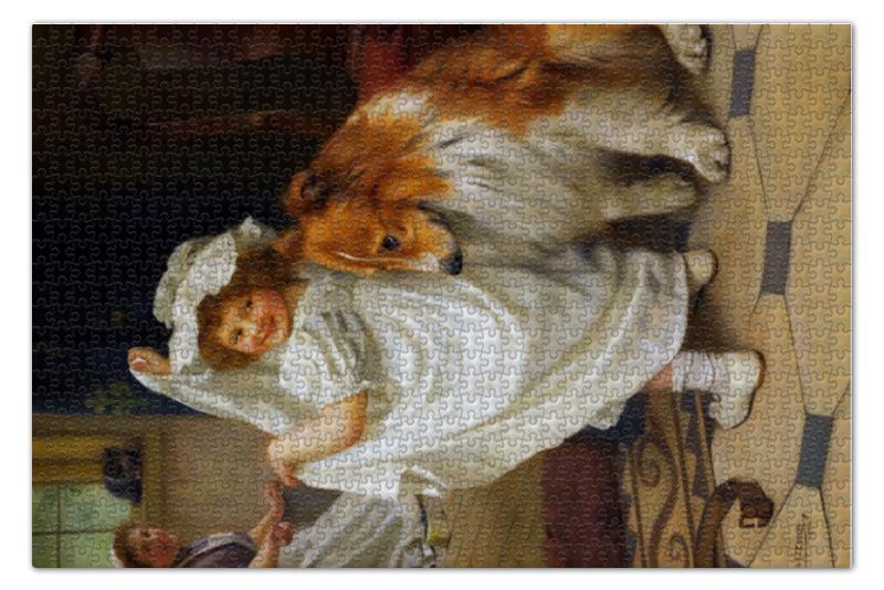 Пазл 735 x 488 1000 элементов Printio Картина артура элсли 18601952