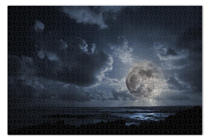 Пазл 73.5 x 48.8 (1000 элементов) Printio Полнолуние пазл 73 5 x 48 8 1000 элементов printio спящая красавица
