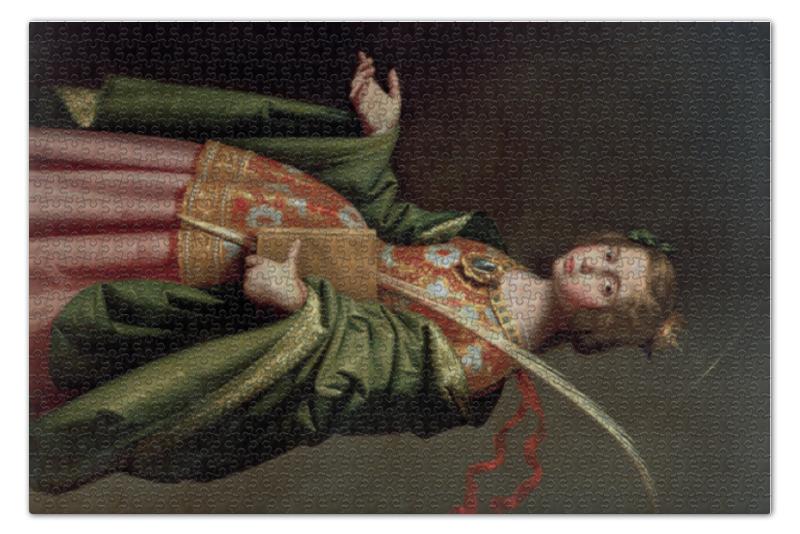 Пазл 73.5 x 48.8 (1000 элементов) Printio Елизавета венгерская (франсиско де сурбаран)