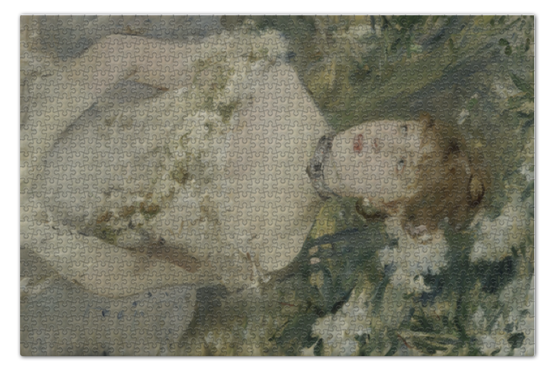Пазл 73.5 x 48.8 (1000 элементов) Printio Молодая девушка в бальном платье (картина моризо) пазл 73 5 x 48 8 1000 элементов printio сад земных наслаждений
