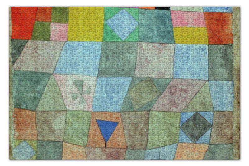 Пазл 73.5 x 48.8 (1000 элементов) Printio Товарищеский матч (пауль клее) paul klee paul klee