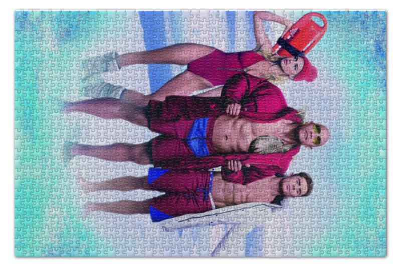 Пазл 73.5 x 48.8 (1000 элементов) Printio Спасатели малибу playmobil спасатели с носилками