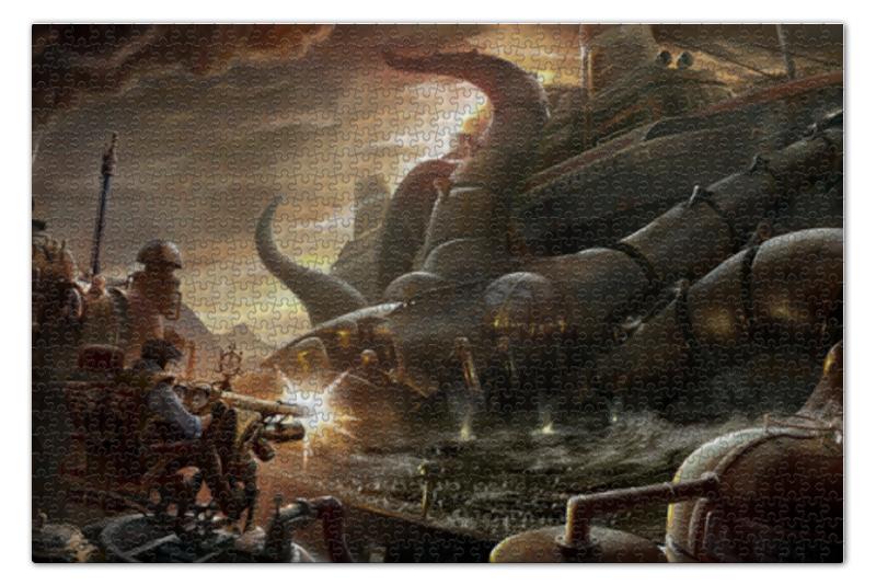 Пазл 73.5 x 48.8 (1000 элементов) Printio Steampunk war пазл 1000 томас кинкейд мост 57466