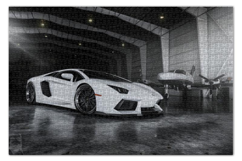 Printio Lamborghini aventador пазл 73 5 x 48 8 1000 элементов printio в парке иван шишкин