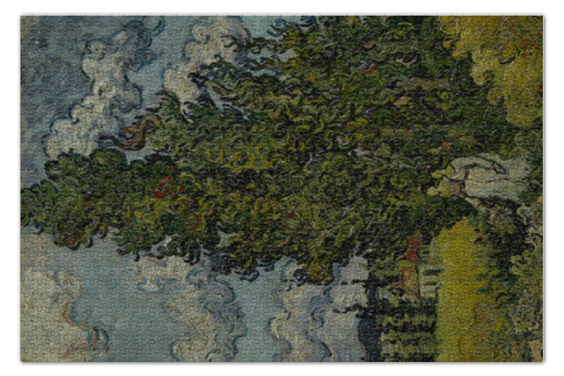 Printio Кипарисы и две женщины (винсент ван гог) пазл 73 5 x 48 8 1000 элементов printio добрый самаритянин винсент ван гог