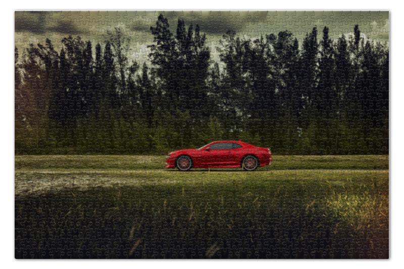 Пазл 73.5 x 48.8 (1000 элементов) Printio Chevrolet camaro пазл 73 5 x 48 8 1000 элементов printio сад земных наслаждений