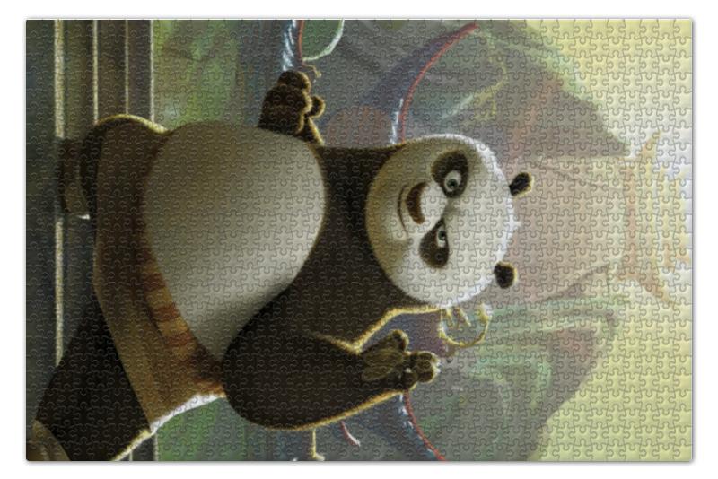 Пазл 73.5 x 48.8 (1000 элементов) Printio Кунг-фу панда unice кунг фу панда