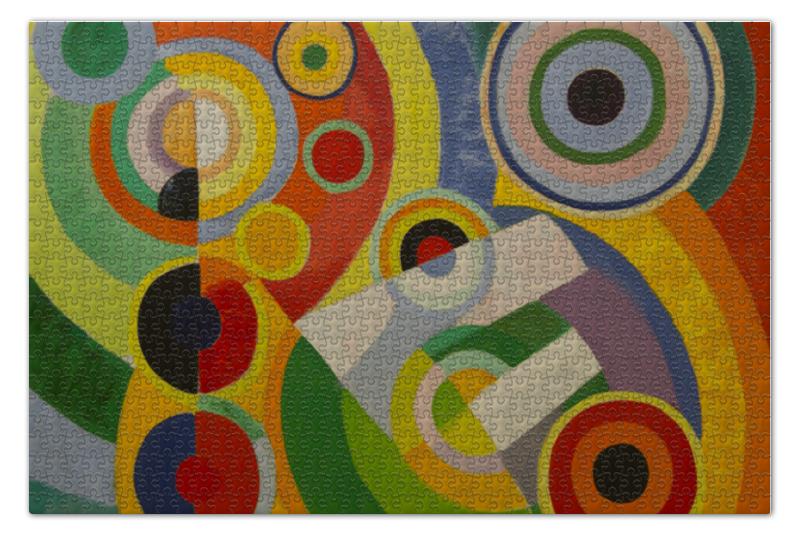 Пазл 73.5 x 48.8 (1000 элементов) Printio Ритм, радость жизни (картина делоне) цена