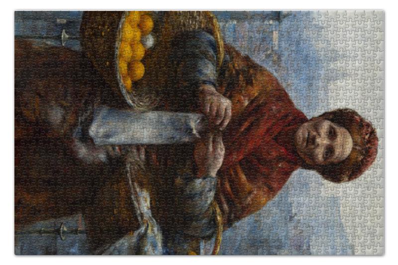 Пазл 73.5 x 48.8 (1000 элементов) Printio Еврейка с лимонами (александр герымский)