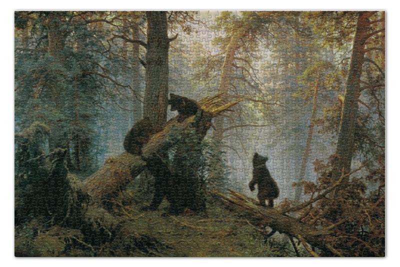 Printio Утро в сосновом лесу (иван шишкин) пазл 43 5 x 31 4 408 элементов printio лесные дали иван шишкин