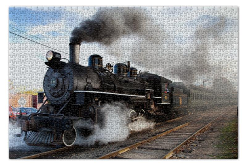 Пазл 73.5 x 48.8 (1000 элементов) Printio Поезд пазл 1000 томас кинкейд мост 57466
