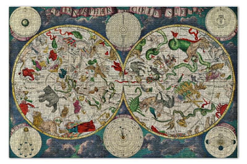 Пазл 73.5 x 48.8 (1000 элементов) Printio Атлас звёздного неба xvii века пазл 73 5 x 48 8 1000 элементов printio сад земных наслаждений