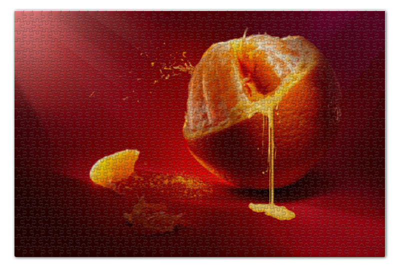 Пазл 73.5 x 48.8 (1000 элементов) Printio Апельсин пазл 73 5 x 48 8 1000 элементов printio сад земных наслаждений