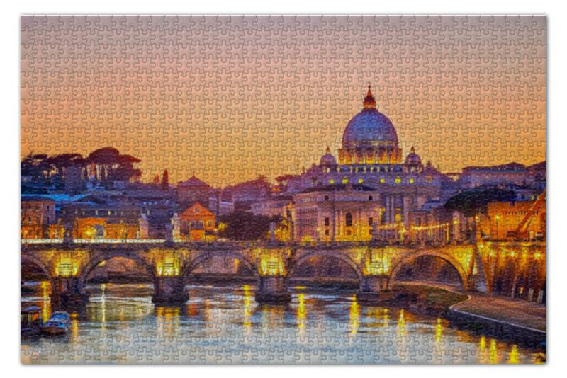 Пазл 73.5 x 48.8 (1000 элементов) Printio Рим пазл 73 5 x 48 8 1000 элементов printio спящая красавица