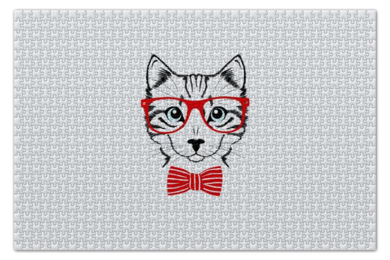 Пазл 73.5 x 48. (1000 элементов) Printio Кошка