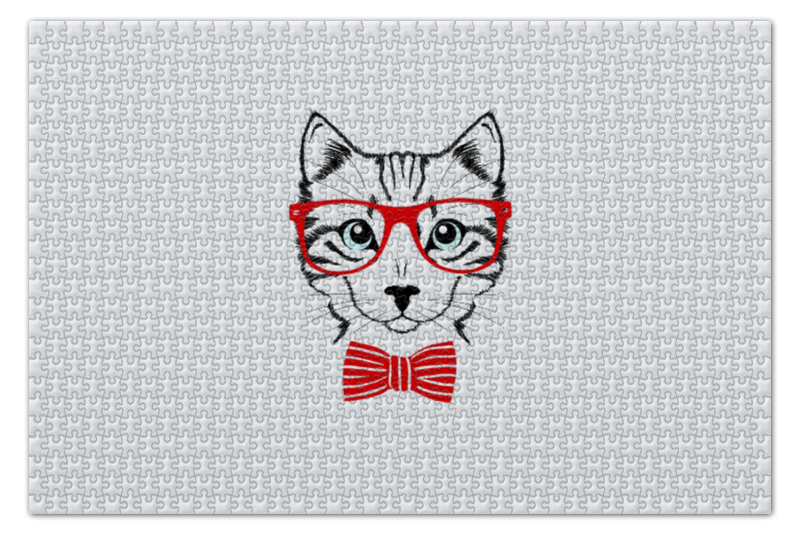 Пазл 73.5 x 48.8 (1000 элементов) Printio Кошка пазл оригами арт терапия кошка 360 элементов