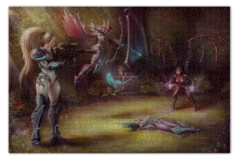 Пазл 73.5 x 48.8 (1000 элементов) Printio Heroes of the storm футболка print bar heroes of the storm nova