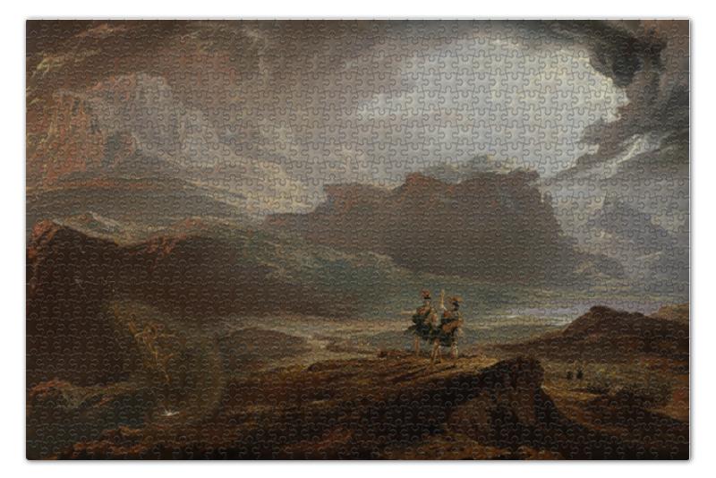 Пазл 73.5 x 48.8 (1000 элементов) Printio Макбет (пьеса) (джон мартин) макбет
