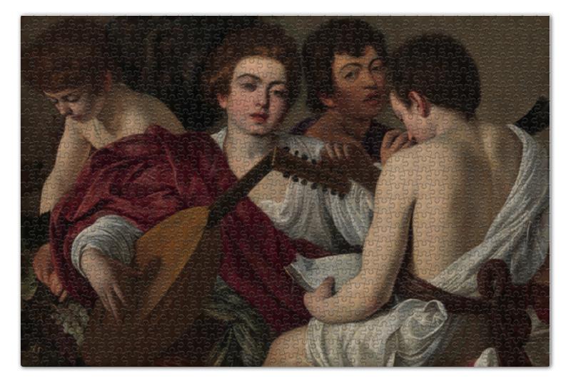 Пазл 73.5 x 48.8 (1000 элементов) Printio Музыканты (караваджо)