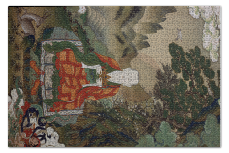 Пазл 73.5 x 48.8 (1000 элементов) Printio Рахула (сын будды) сын журавль