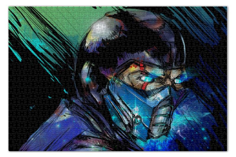 Пазл 73.5 x 48.8 (1000 элементов) Printio Mortal kombat x (sub-zero) пазл магнитный 18 x 27 126 элементов printio mortal kombat x sub zero