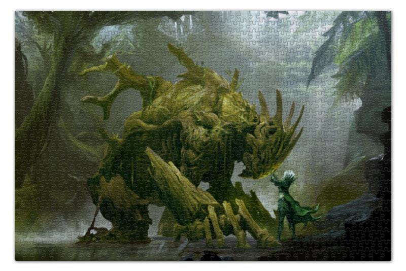 Пазл 73.5 x 48.8 (1000 элементов) Printio Swamp beast цены онлайн
