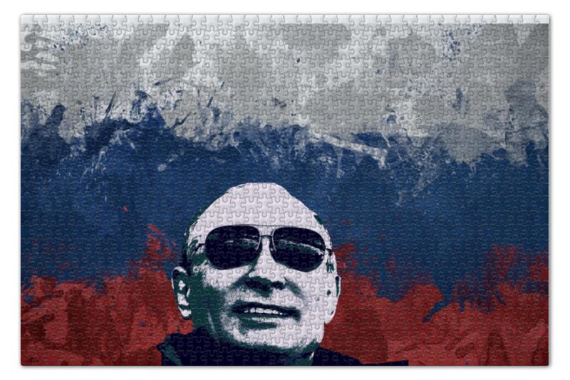 Пазл 735 x 488 1000 элементов Printio Путин