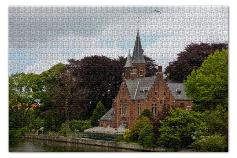 Пазл 73.5 x 48.8 (1000 элементов) Printio Дом на реке пазл 1000 томас кинкейд мост 57466