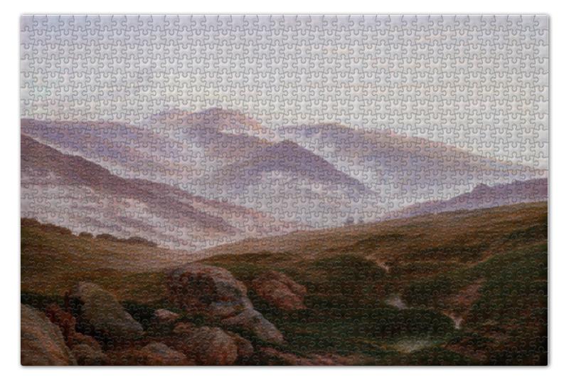 Пазл 73.5 x 48.8 (1000 элементов) Printio Воспоминания об исполиновых горах пазл 73 5 x 48 8 1000 элементов printio открытая дверь в сад картина сомова