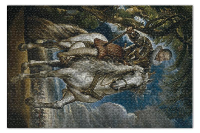 Пазл 73.5 x 48.8 (1000 элементов) Printio Герцог лерма (картина рубенса)