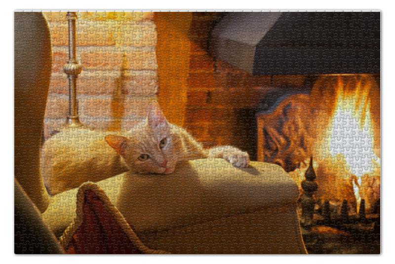 Пазл 73.5 x 48.8 (1000 элементов) Printio Кошка пазл 1000 томас кинкейд мост 57466