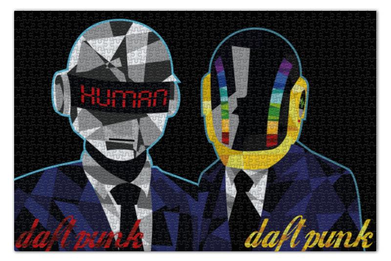 Пазл 73.5 x 48.8 (1000 элементов) Printio Daft punk пазл 73 5 x 48 8 1000 элементов printio железный человек