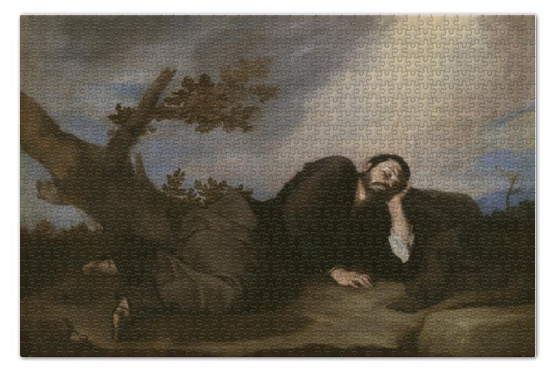 Пазл 73.5 x 48.8 (1000 элементов) Printio Сон иакова (хосе де рибера)