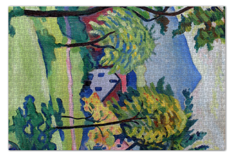 Пазл 73.5 x 48.8 (1000 элементов) Printio Пейзаж в тегернзее (tegernsee landscape)