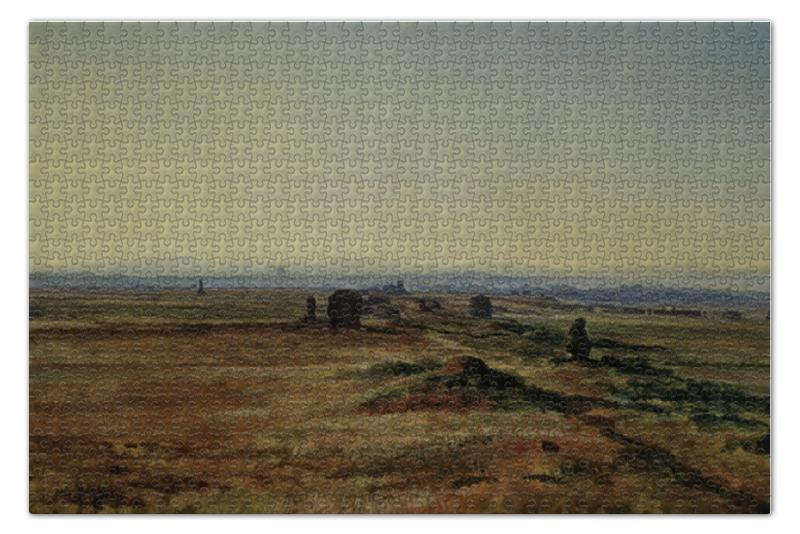 Пазл 73.5 x 48.8 (1000 элементов) Printio Аппиева дорога (via appia) при закате солнца