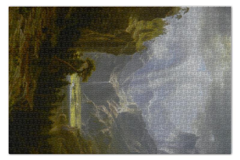 Пазл 73.5 x 48.8 (1000 элементов) Printio Скалистые горы. пик лендера (альберт бирштадт) альберт байкалов запрещенный прием